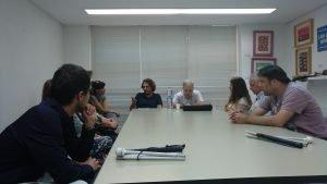 reunión proyecto